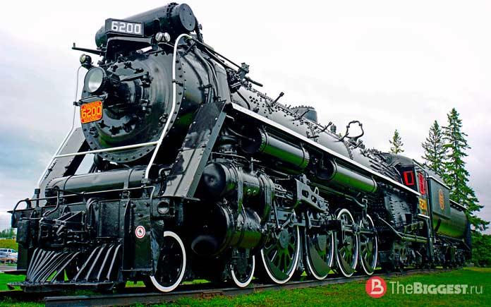 Самые быстрые паровозы в мире