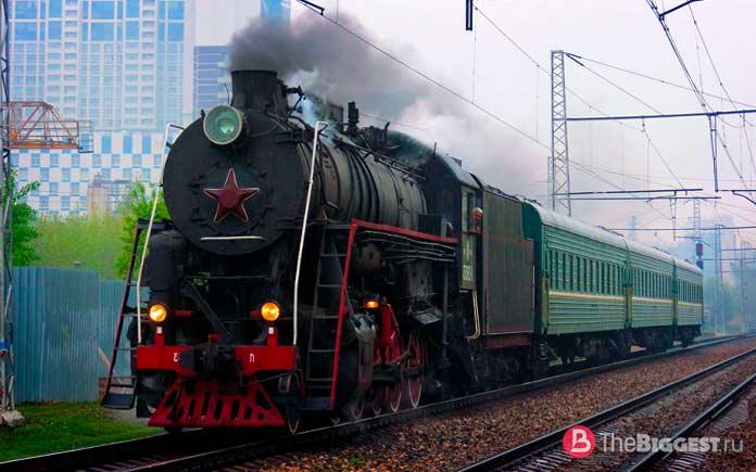 Самые красивые паровозы России и СССР