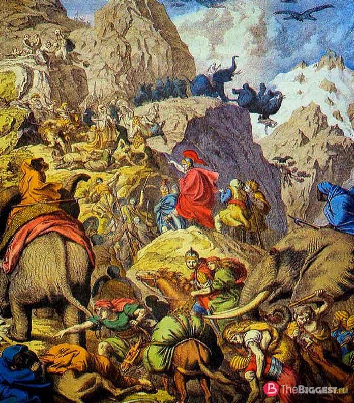 Переход Ганнибала через Альпы