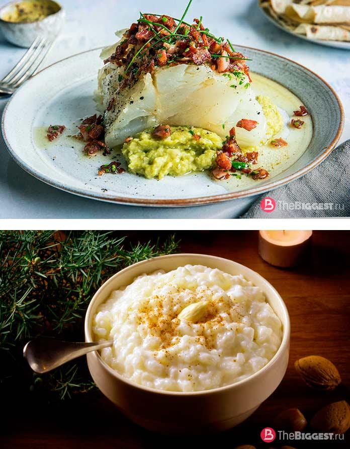 Шведские рождественские блюда