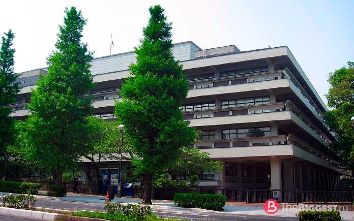 Национальная парламентская библиотека Японии