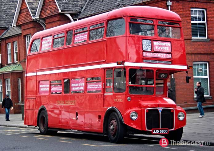 Знаменитый лондонский автобус