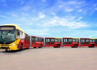 Самые большие и длинные автобусы