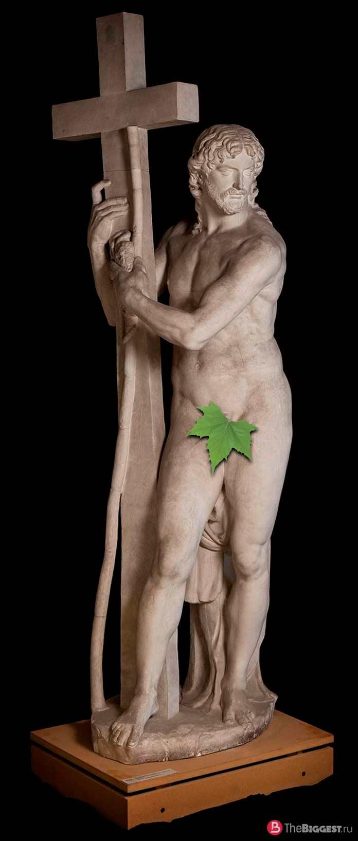 Христос с крестом, Италия