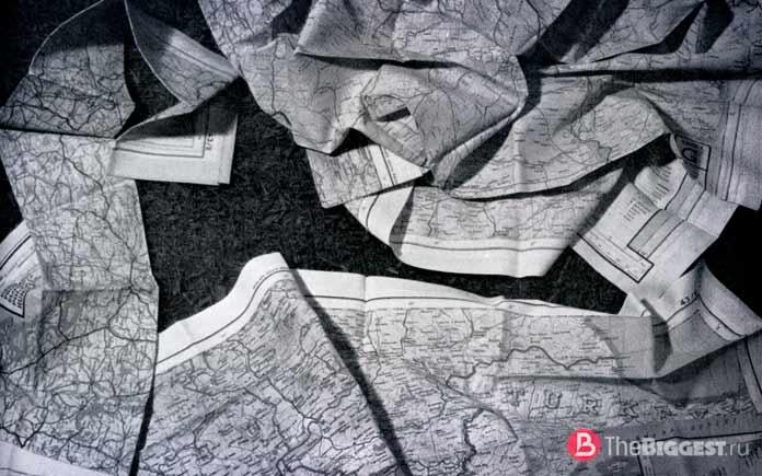 Карты натончайшем шёлке