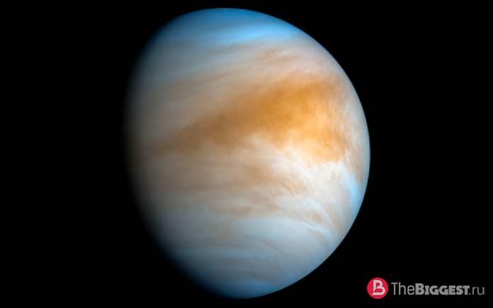 Венера магнитное поле