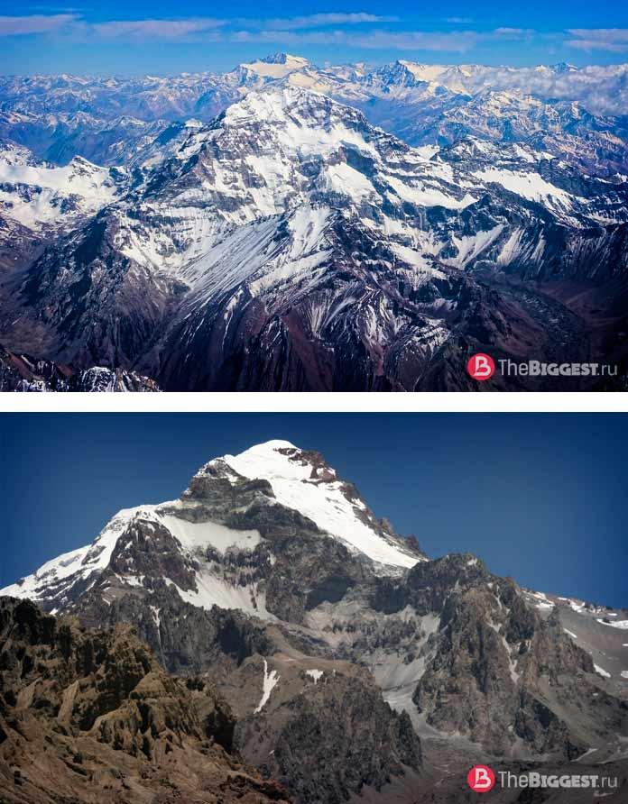 Аконгагуа (Aconcagua). 6 962 м - самая высокая гора Аргентины