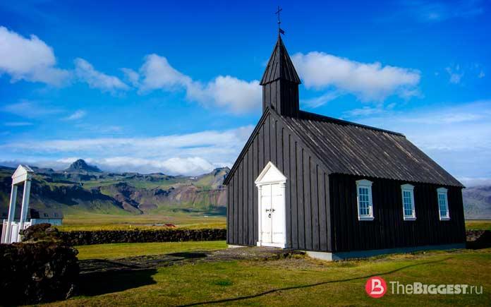Будирская церковь в Исландии
