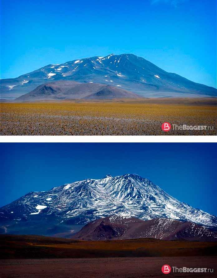 Серро-Бонете (Cerro Bonete). 6 759 м