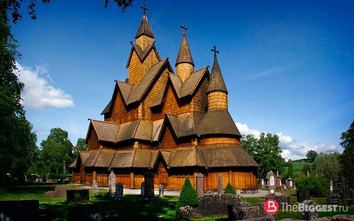 Деревянная церковь Хеддал в Телемарке