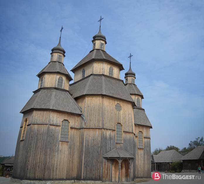 9 удивительных по красоте деревянных церквей, которые стоит увидеть