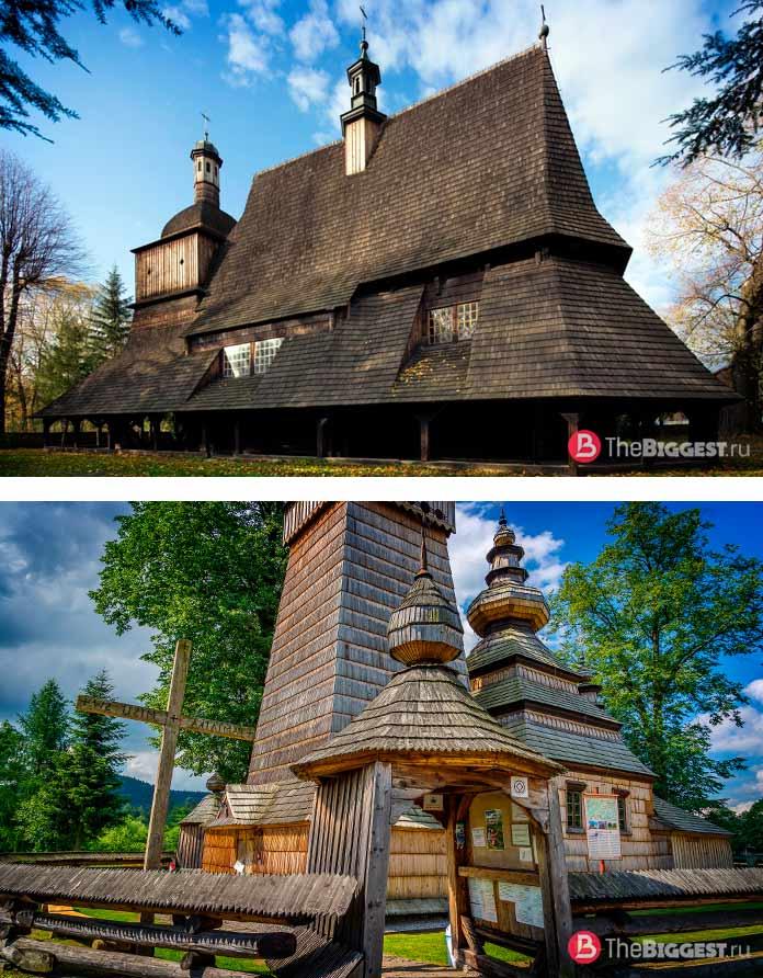 Деревянные церкви на юге Малопольского воеводства