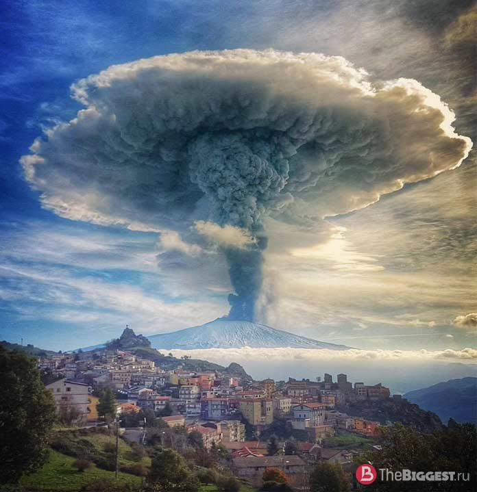 Этна. Италия