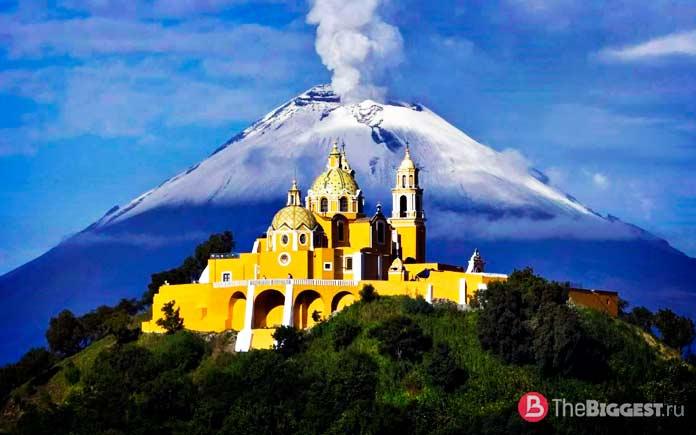 Города рядом с вулканами