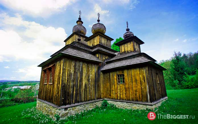 Греко-католическая деревянная церковь в Доброславе
