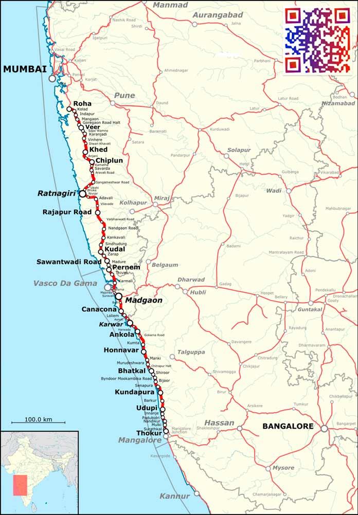 Konkan Railway / Конканские железные дороги