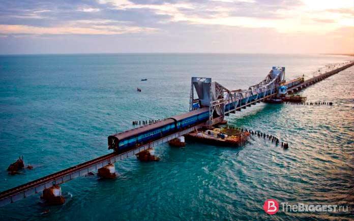 Железнодорожный мост Памбан