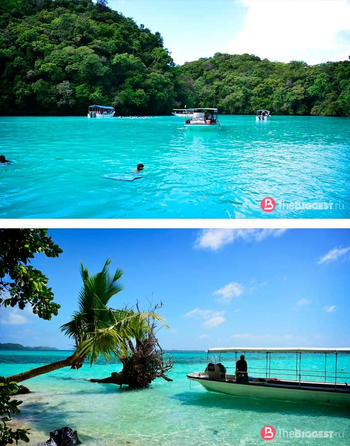 Скальные острова Палау