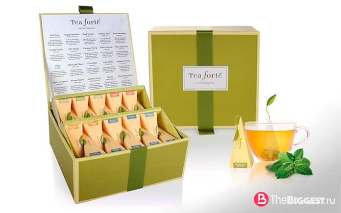 Tea Forte - один из самых дорогих чаёв