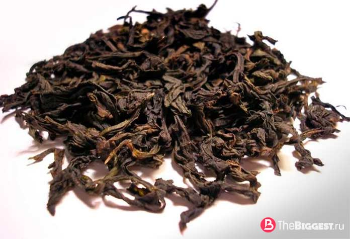 Wuyi Oolong - один из самых дорогих чаёв