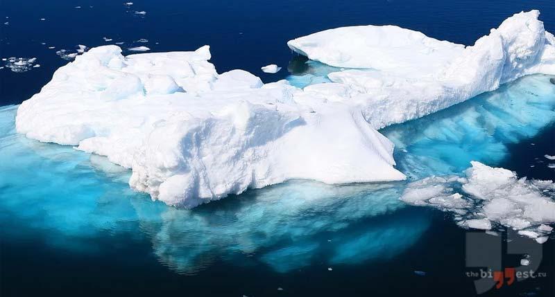 Самые большие айсберги. CC0