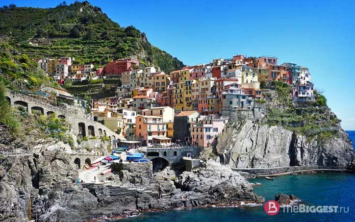 Чинкве Терре, Италия - одно из наиболее красочных мест Европы