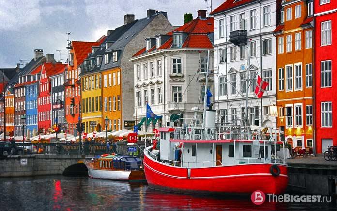 Копенгаген - один из самых популярных городов Скандинавии