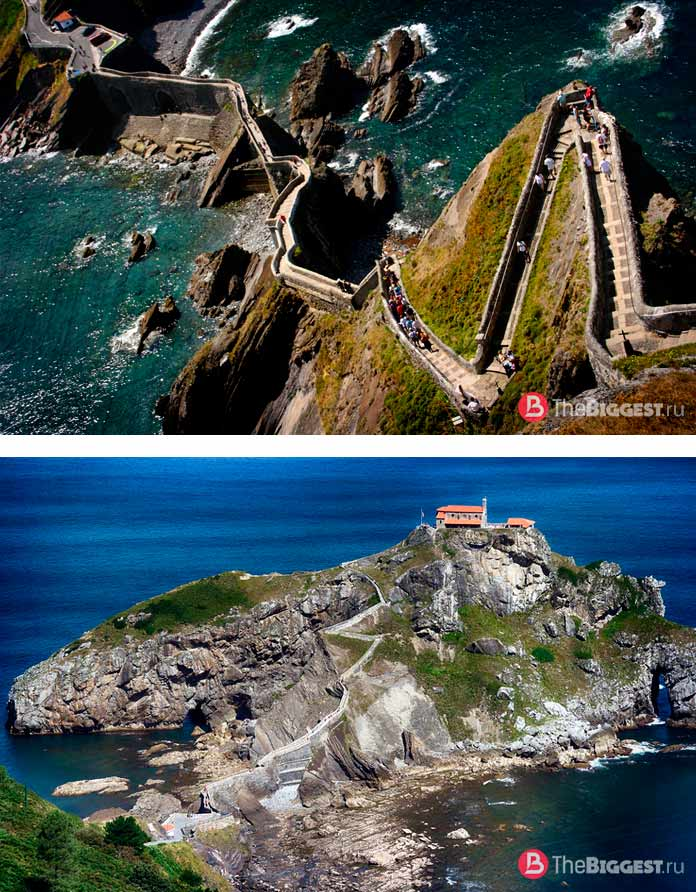 Список самых длинных лестниц в мире: Лестница Гастелугаче