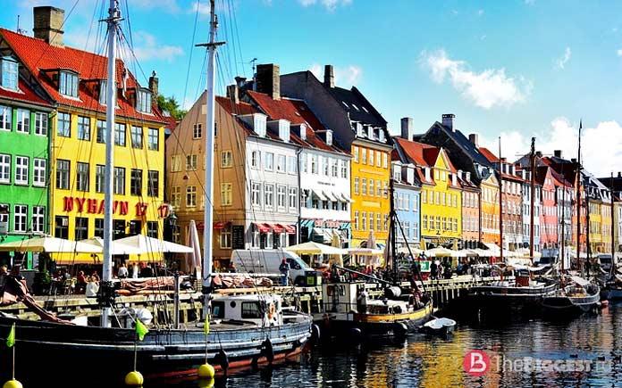 Nyhavn Canal, Копенгаген, Дания - список ярких и насыщенных мест Европы