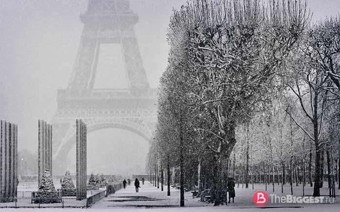 Оледенение Парижа