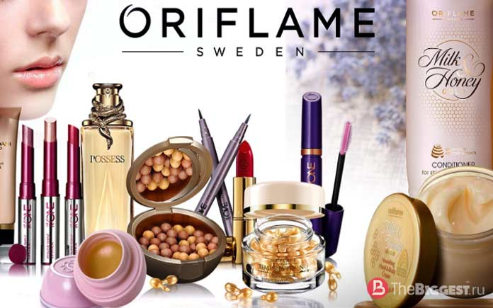 Oriflame - популярная косметика
