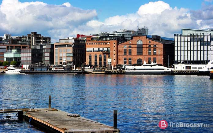 Осло - один из самых популярных городов Скандинавии