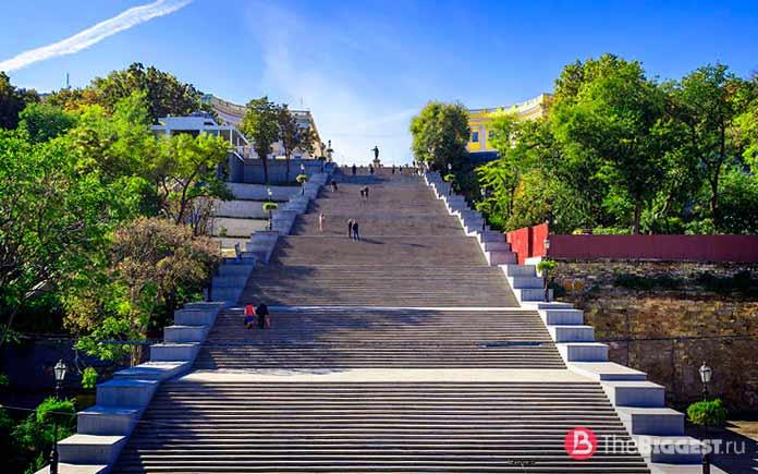 Список самых длинных лестниц в мире: Потёмкинская лестница