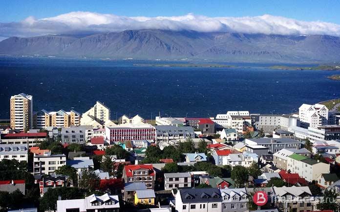 Рейкьявик, Исландия - одно из красочных мест Европы
