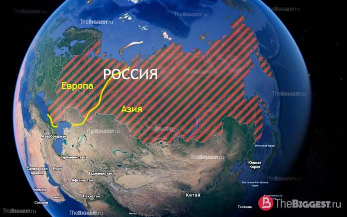 Россия - трансконтинентальное государство мира