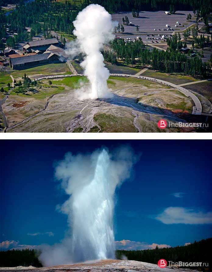 ТОП-12 самых больших гейзеров в мире: Старый служака