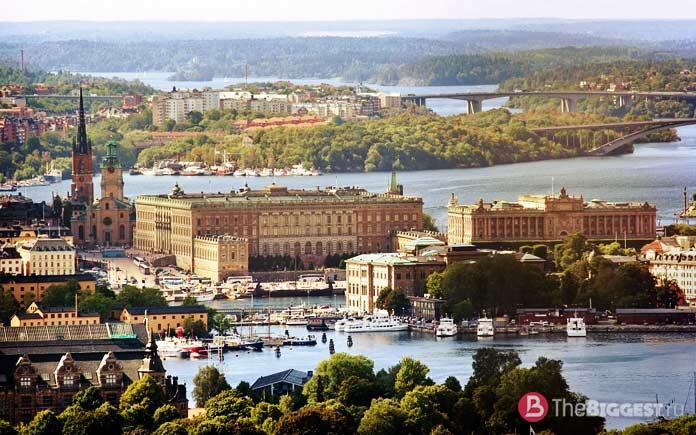 Стокгольм - один из самых популярных городов Скандинавии