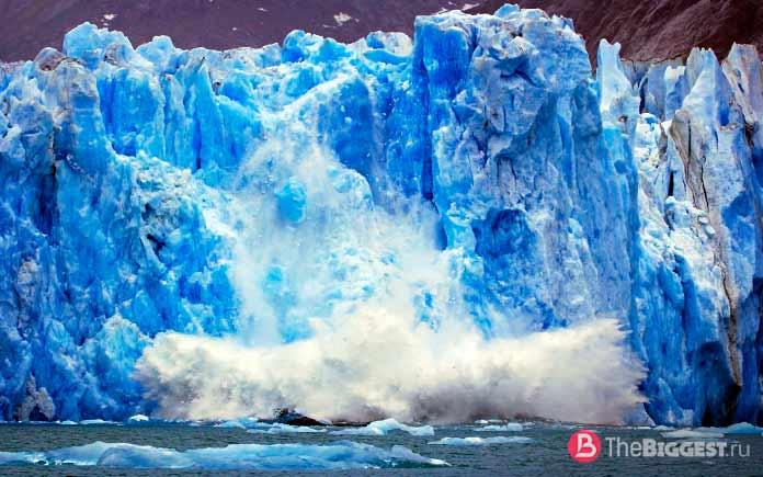 Таяние ледников при глобальном потеплении