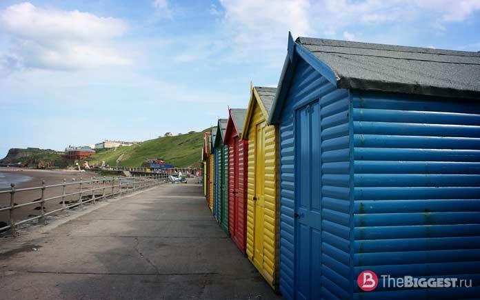 Whitby Beach Huts, Северный Йоркшир, Англия