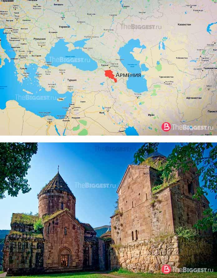 Армения. Самые старые страны, сохранившиеся до наших дней