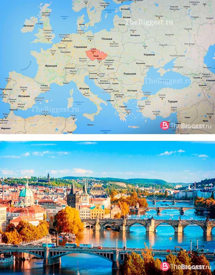Чехия. Самые молодые государства в мире