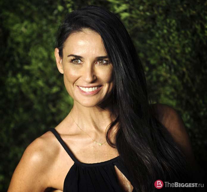 Прекрасные 50-летние женщины: Деми Мур