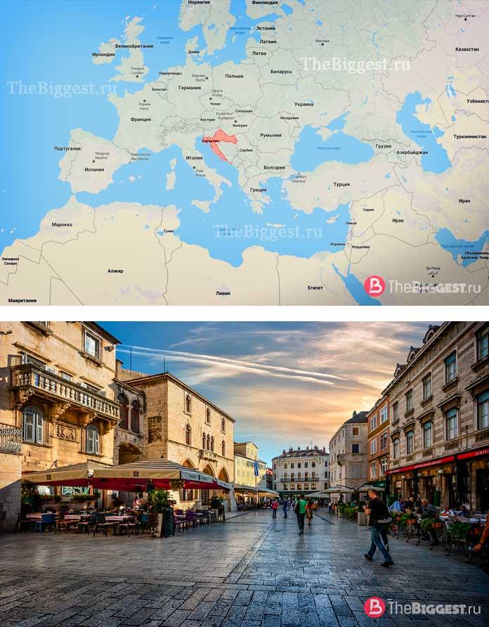 Хорватия. Самые молодые государства в мире