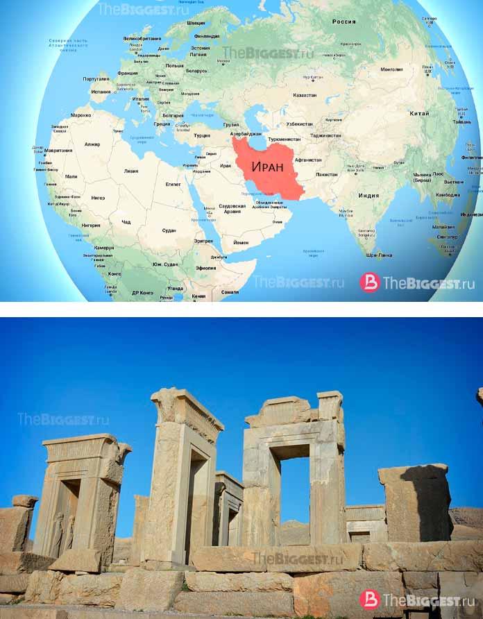 ИранСамые старые страны из существующих