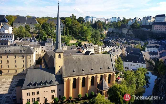 Самые богатые страны мира: Люксембург