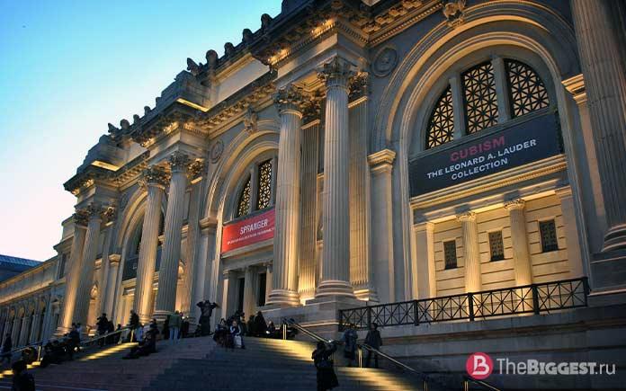 Метрополитен музей. Самые посещаемые художественные музеи