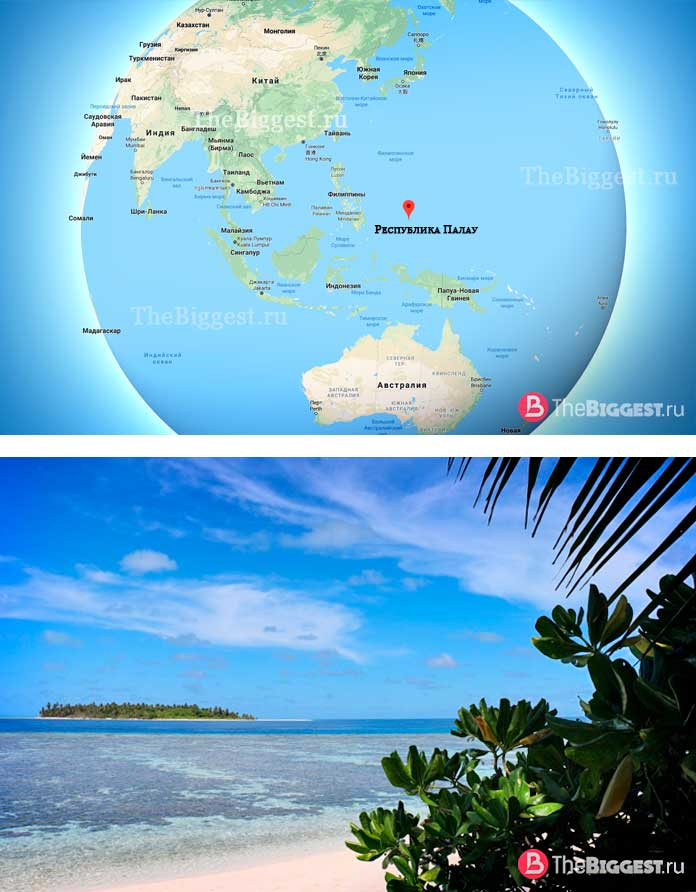 Республика Палау. Самые молодые государства в мире