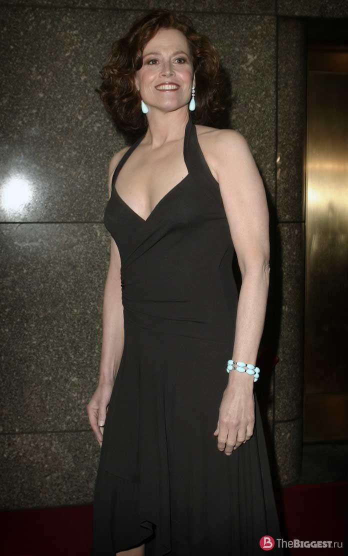 Самые красивые 50-летние женщины: Sigourney Weaver