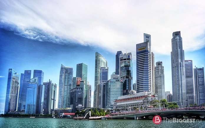 Самые богатые страны мира: Сингапур