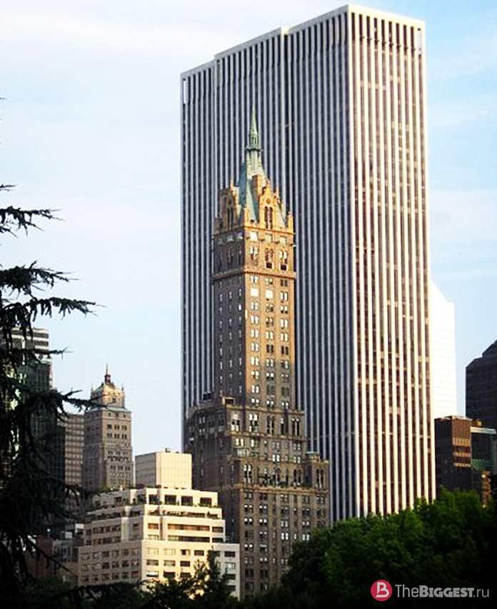 Список дорогих пентхаусов в Нью-Йорке: The Sherry Netherland